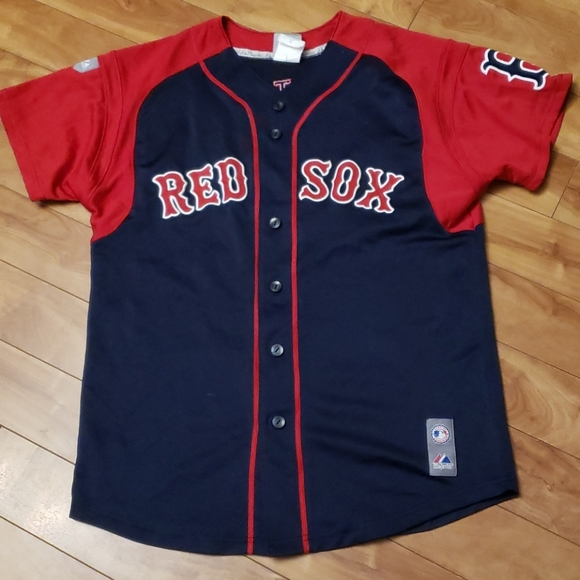 Majestic Boston Red Sox #34 Ortiz jersey